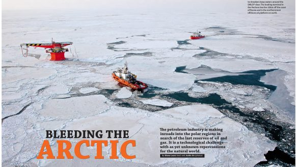 Bleeding the Arctic