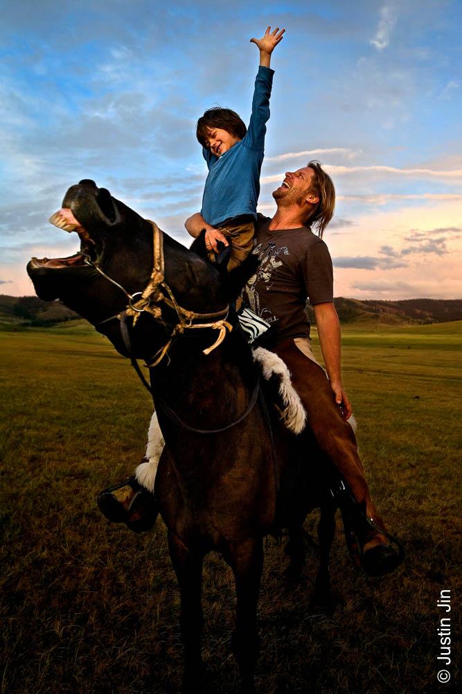 Le garçon cheval