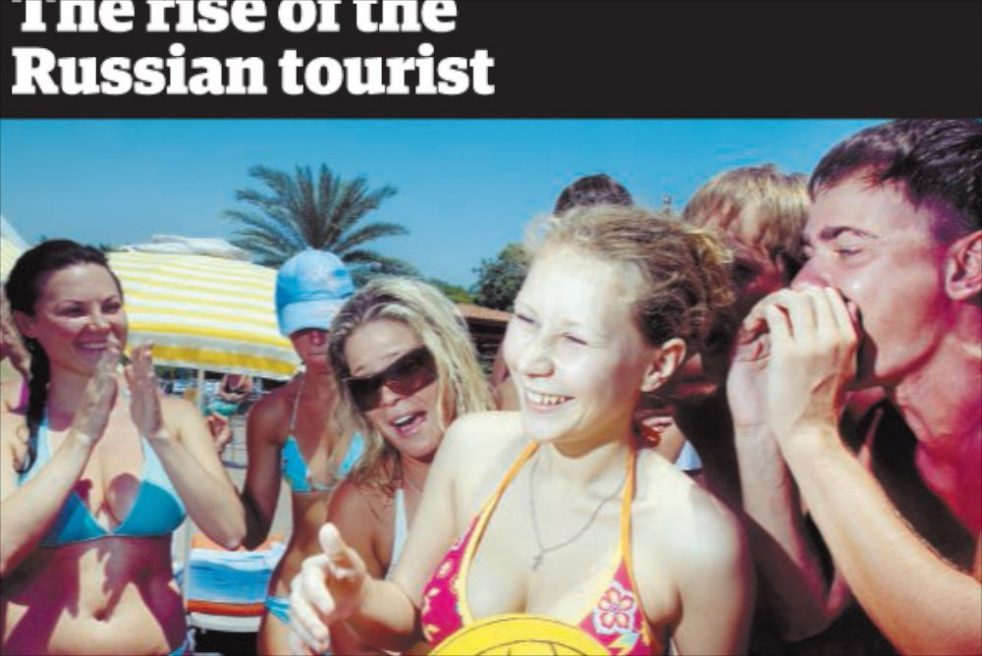 THE RISE OF THE RUSSIAN TOURIST