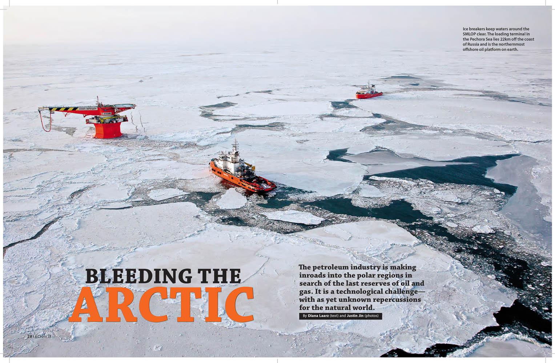 Bleeding the Arctic