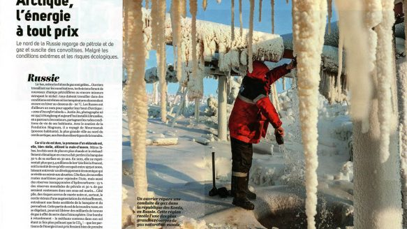Arctique, l'énergie à tout prix