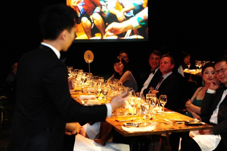 Pernod Ricard organized a black-tie gala in Shanghai and invited me as the main presenter, showing my pictures and telling my story to a gathering of movers and shakers.