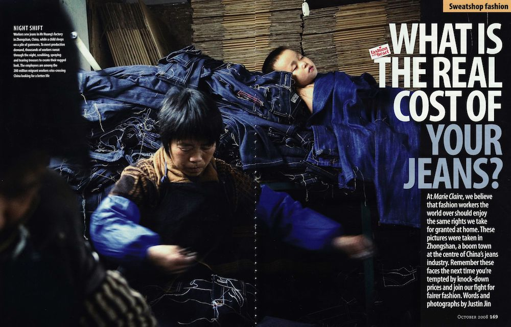 WHAT IS THE REAL COST OF YOUR JEANS?