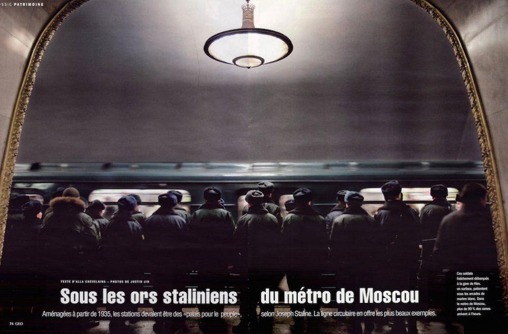 SOUS LES ORS STALINIENS DU MÉTRO DE MOSCOU