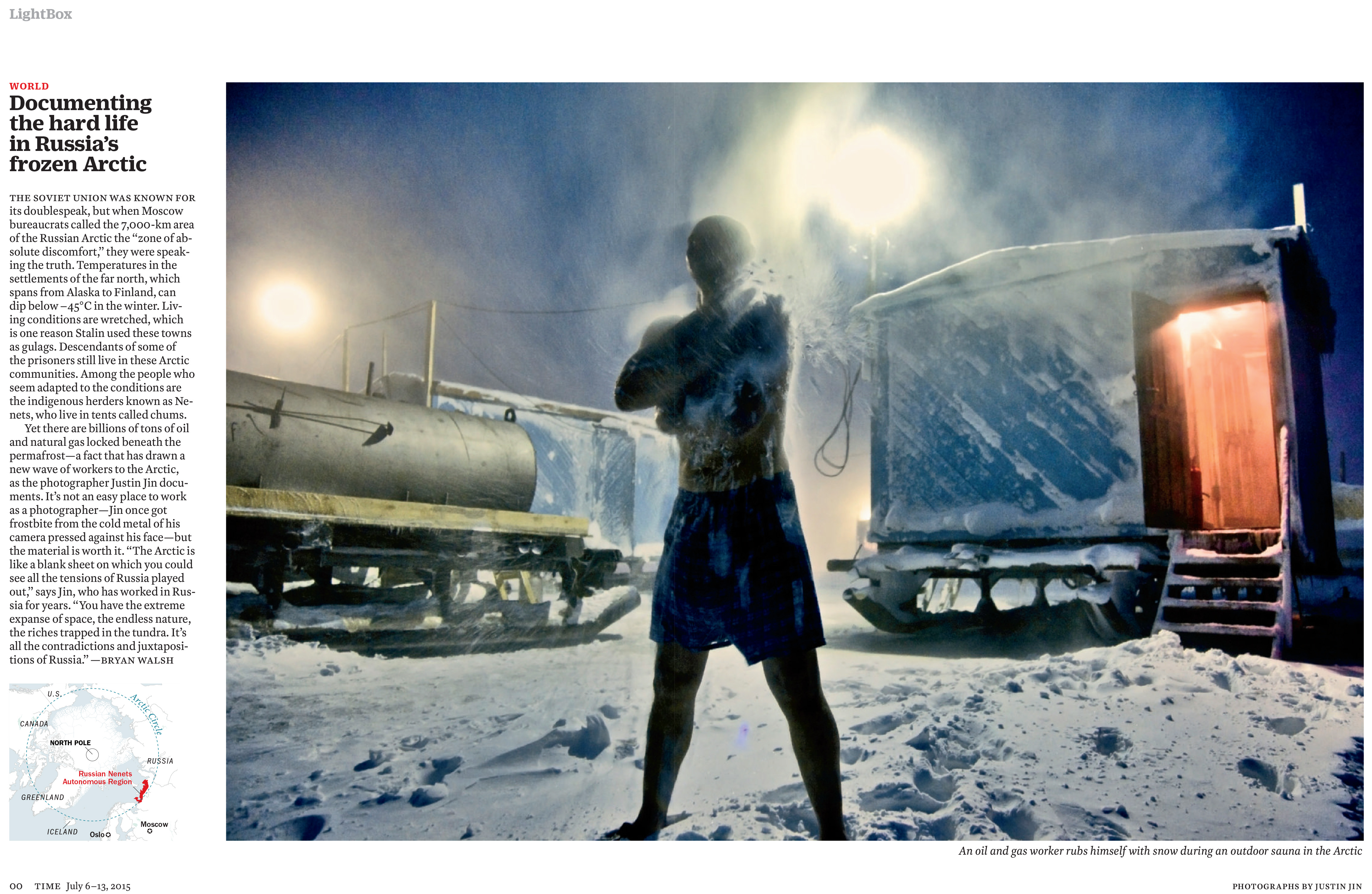 Documenting the hard life in Russia's frozen Arctic