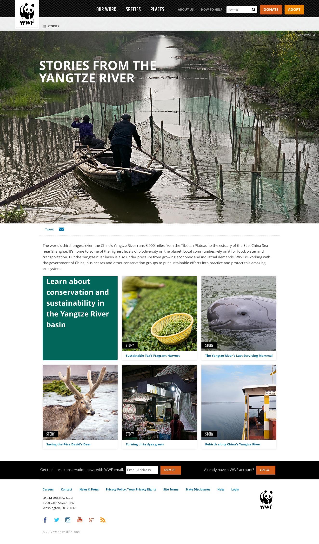 WWF – China's Yangtze River