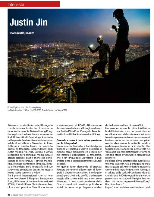 Interview Mr. Justin Jin  Progresso Fotografico n.54